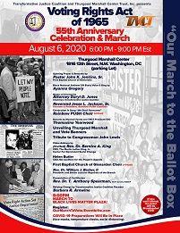 VRA of 1965 55th Anniversary Celebration & March
