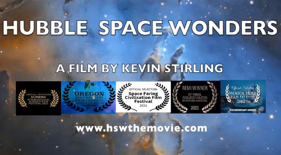 HUBBLE SPACE WONDERS Wins Film Award
