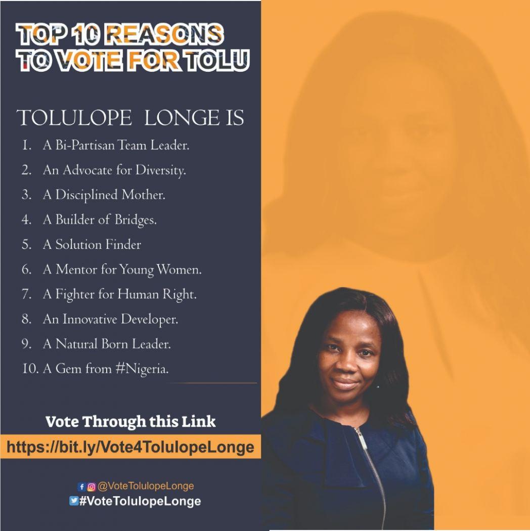 Votetolulopelonge Meet The Tolulope Longe 04