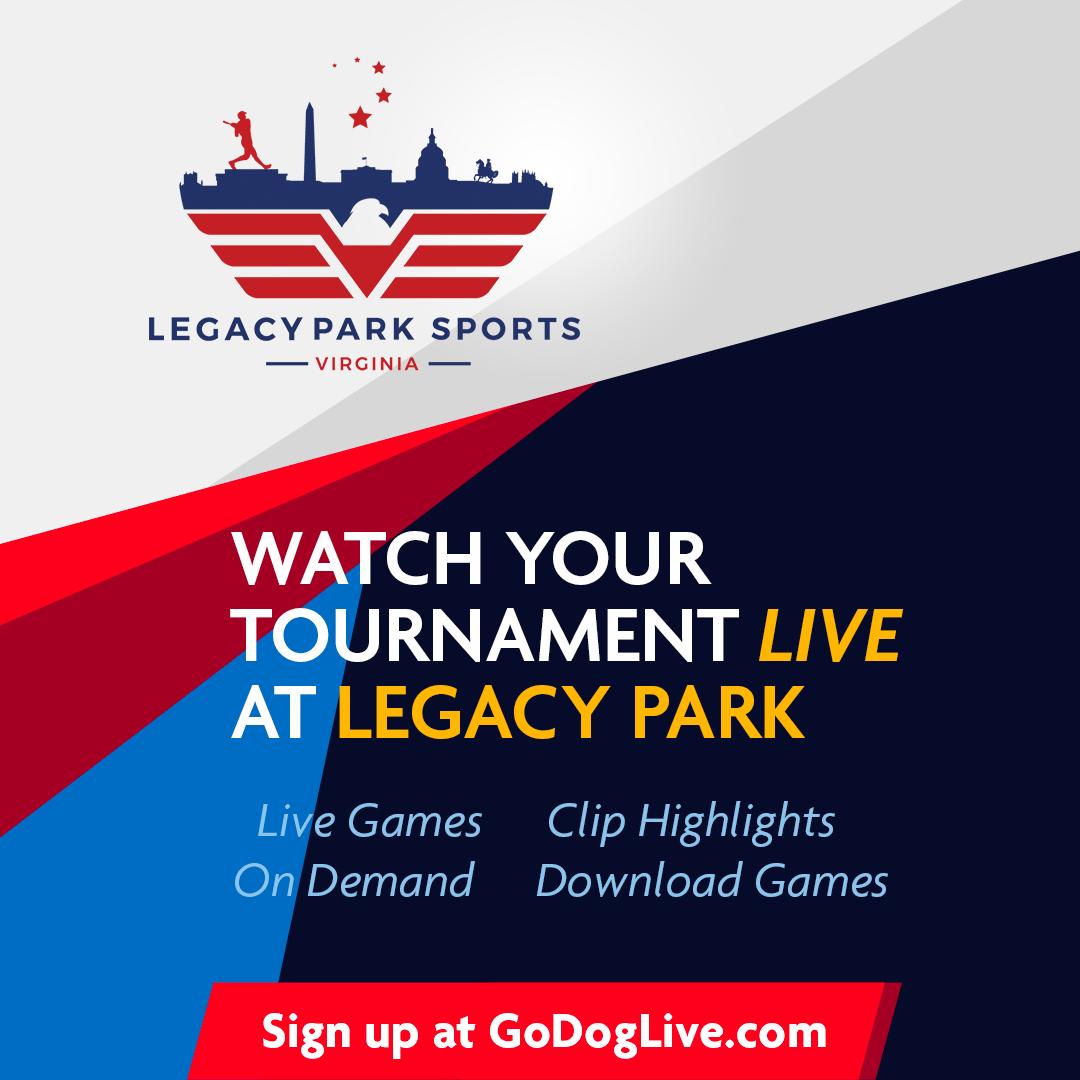 GoDog GameStream @ Legacy Park, VA