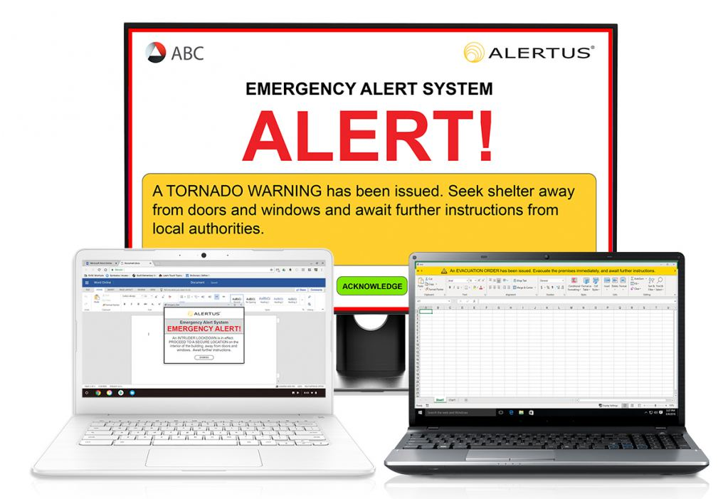 Alertus Desktop For Chrome Extension