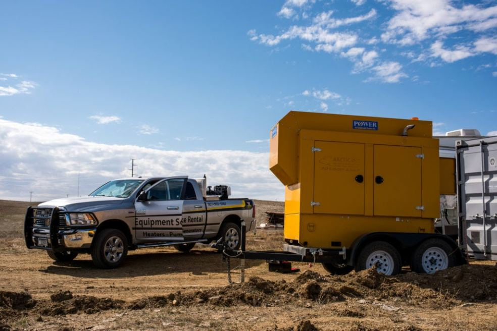 ESI has a range of rental equipment in AK and ND.