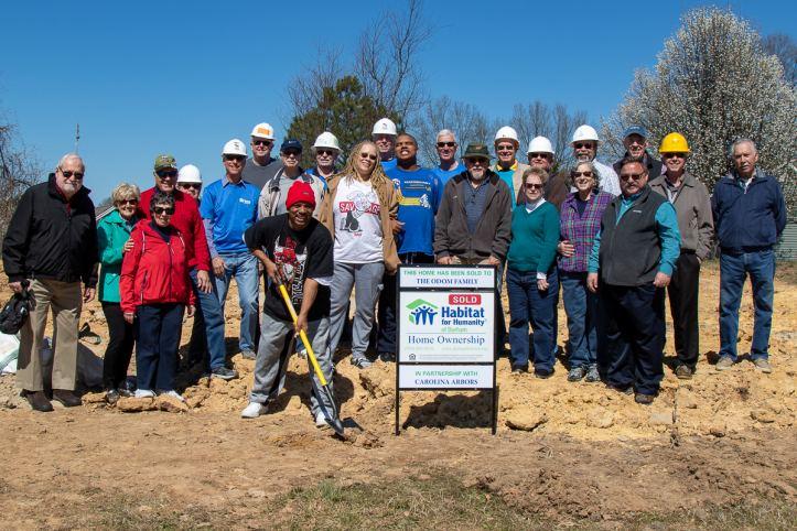 The Habitat Team from Durham's Carolina Arbors