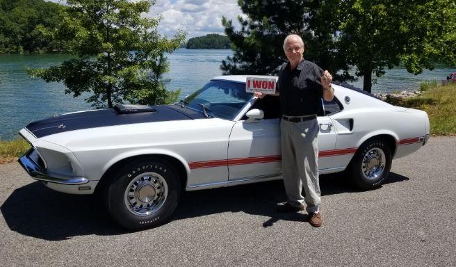 2020 Mustang Dream Giveaway Winner Ken Bair of GA.