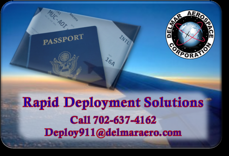 DelMar Aerospace Rapid Deployment Solutions