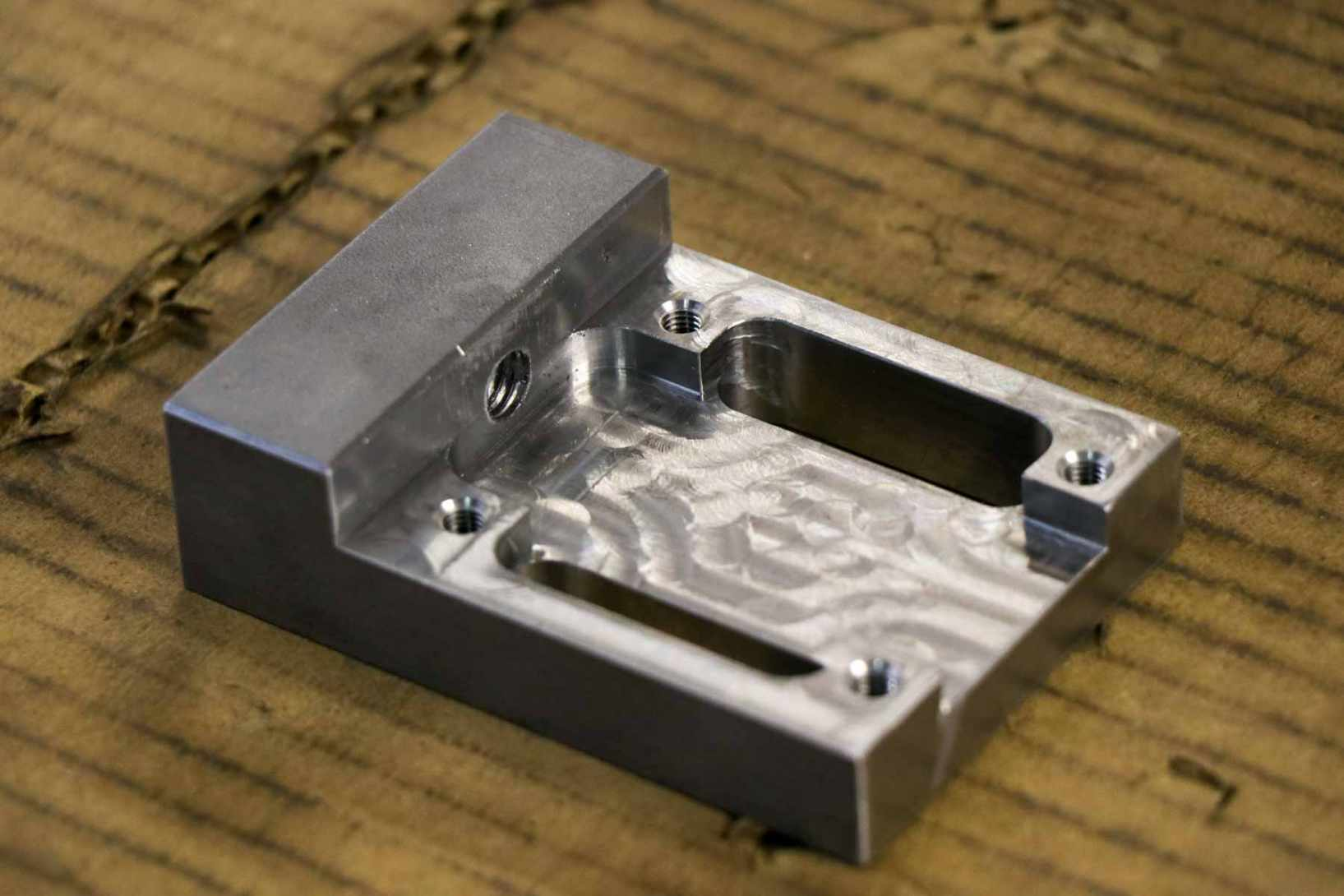 Prototyping metal and plastic parts