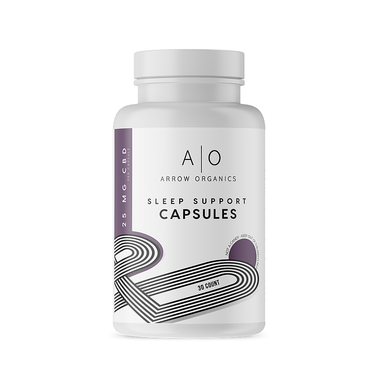 Arrow Organics Sleep Support Capsules