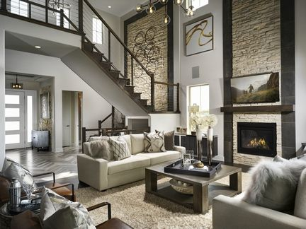 Toll Brothers Flatirons Meadows Family Room