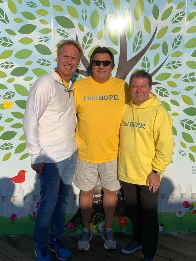 HOPE Sheds Light Co-founders at the 2019 HOPE Walk