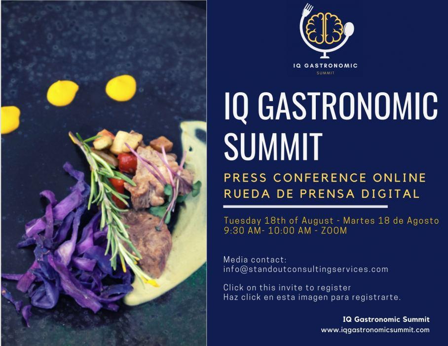 Press Conference Iq Gatsronomic Summit