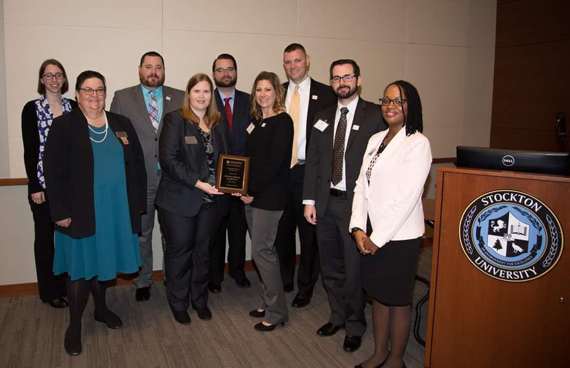 HFA accepts Internship Partner of the Year Award