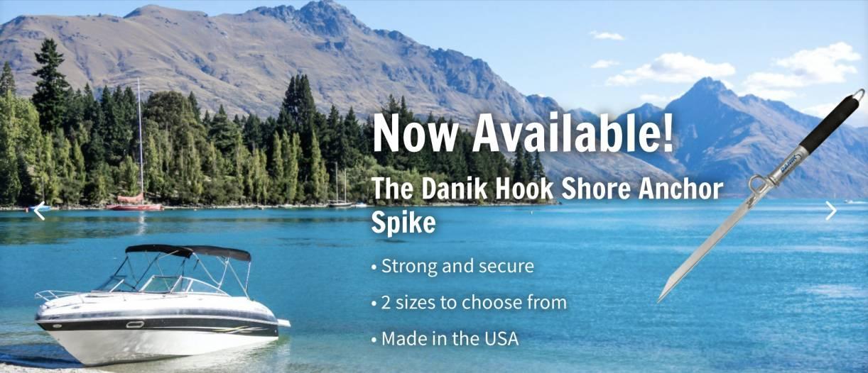 Danik Hook Shore Anchor Spike