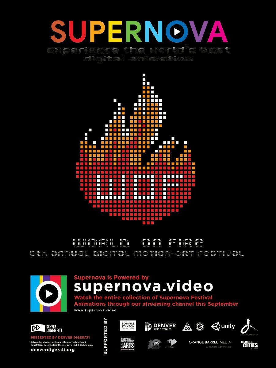 Supernova 2020 World On Fire Graphic
