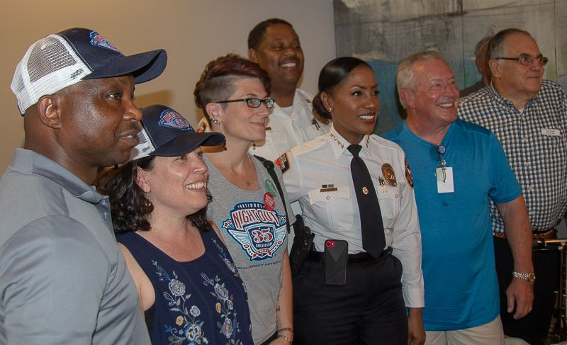 Durham Police Department National Night Out event