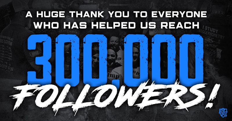 Shield Republic now has 300k Followers on Facebook