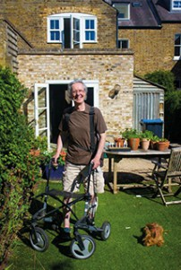 Patrick In His Garden June 2020