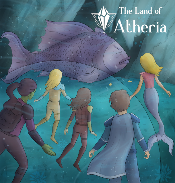 The Land Of Atheria The Ocean Ruins Sick Fish
