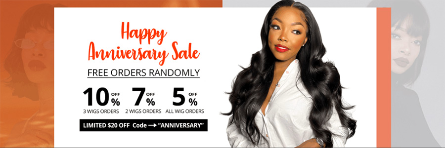 West Kiss Hair Free Orders Randomly