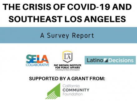 Crisis of COVID-19 and Southeast Los Angeles