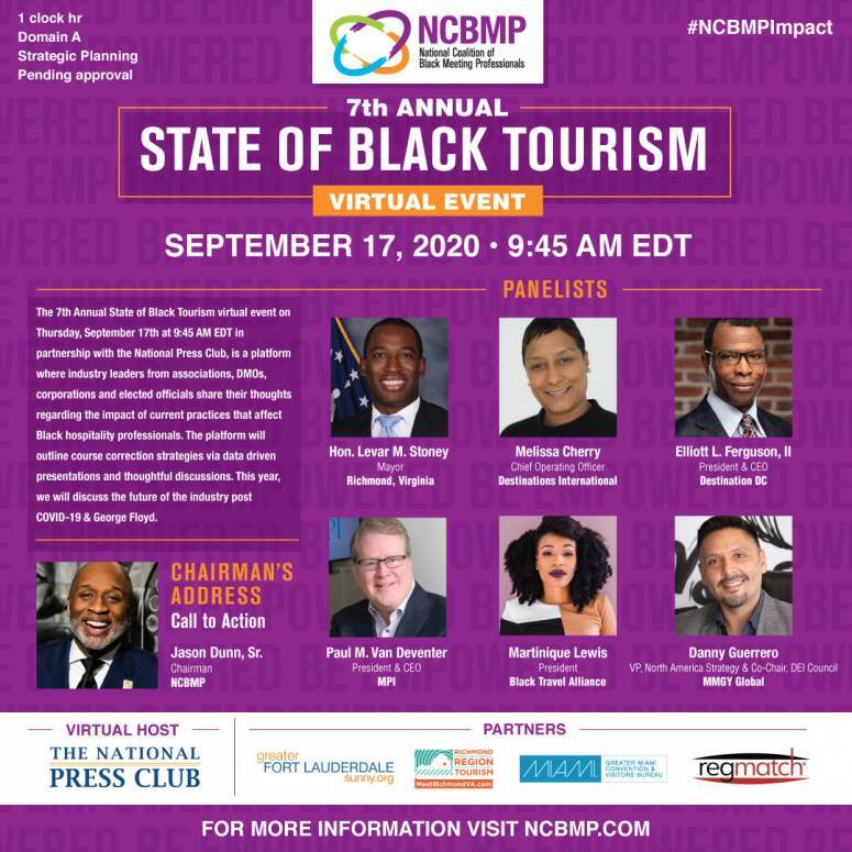 NCBMP's 7th Annual State of Black Tourism