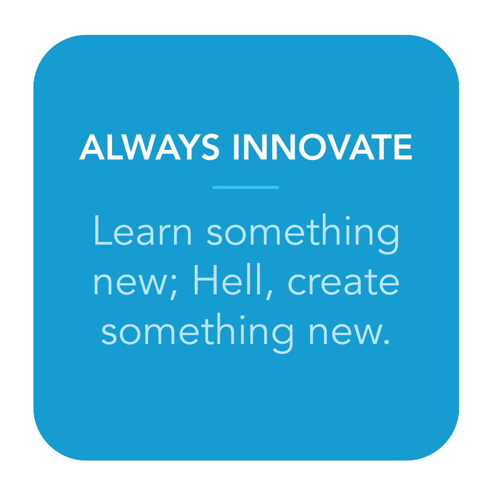 Always Innovate.