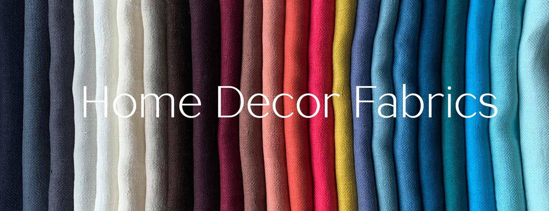 Home Decor Fabrics