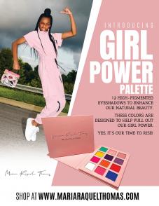 Girl Power Eyeshadow By Maria Raquel Thomas
