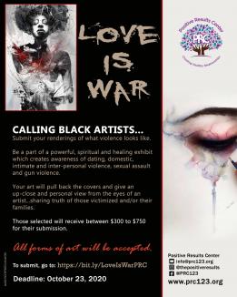 Love Is War Exhibit