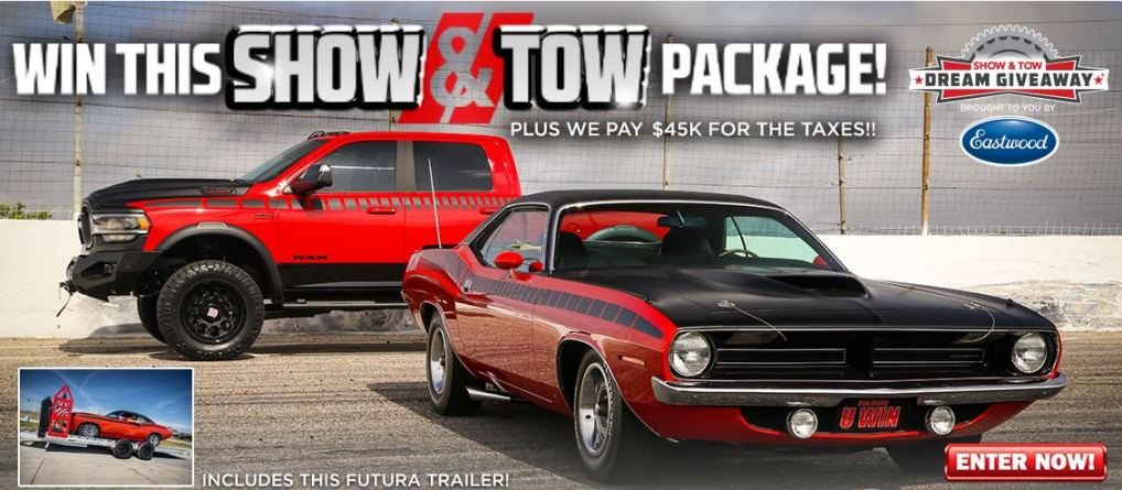 Show and Tow Dream Giveaway Grand Prize Package
