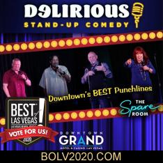 Delirious Comedy Club Best Of Las Vegas