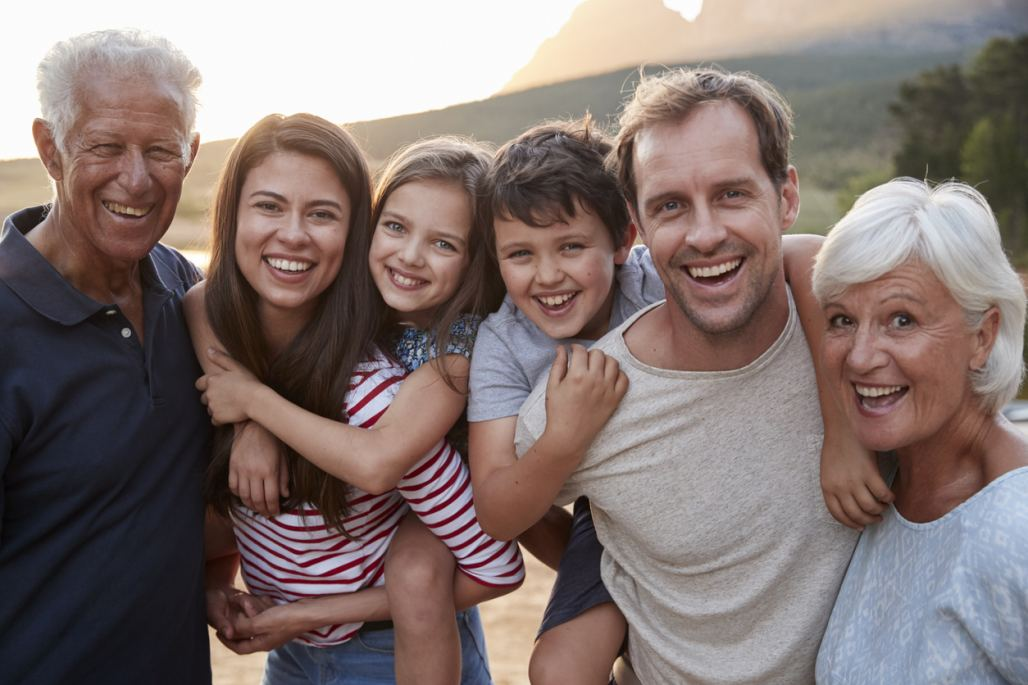 Multi-generation family (iStockphoto)