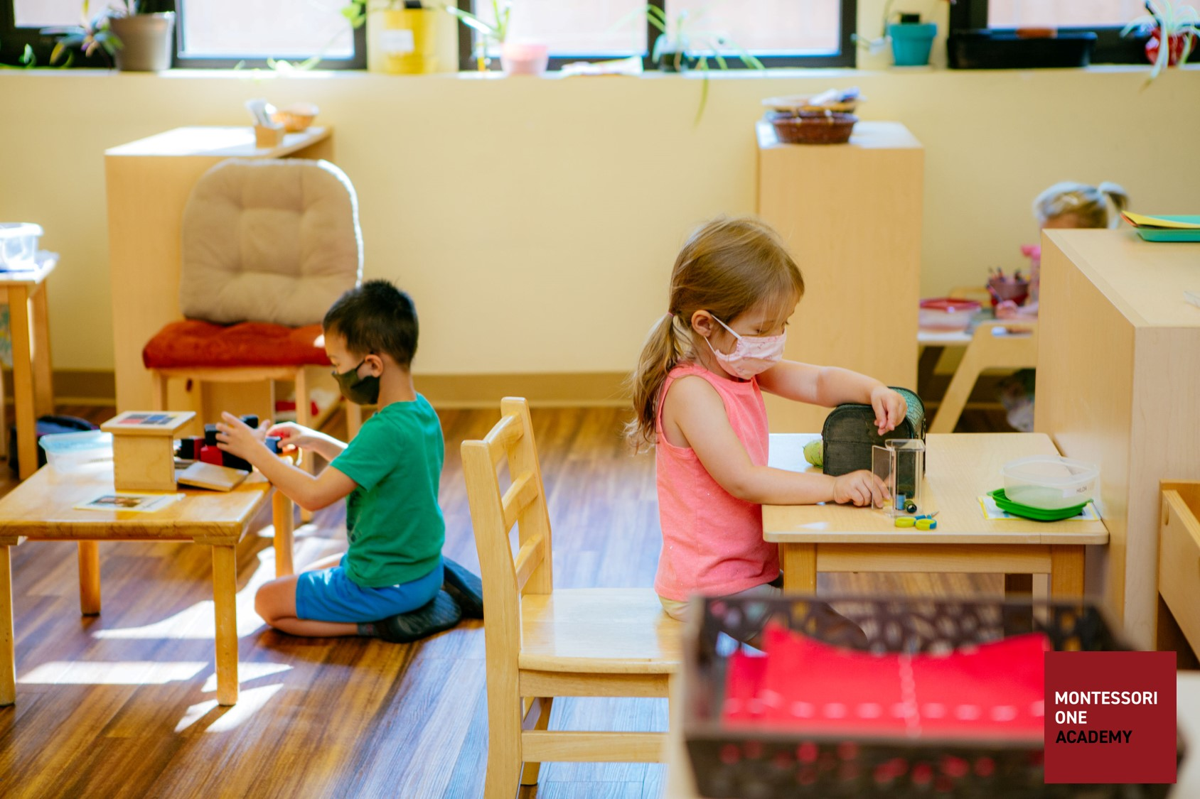 Montessori ONE Independent Workstations