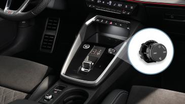Preh circular sensory volume control for Audi A3