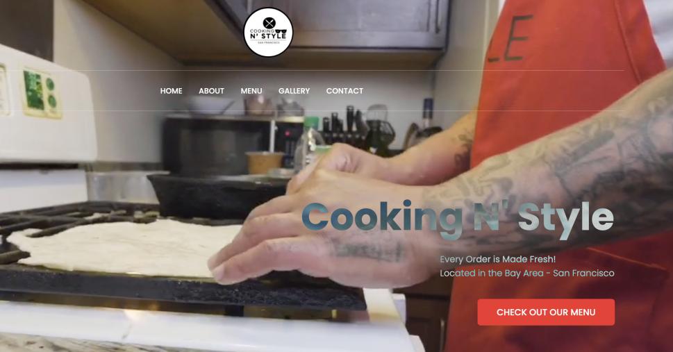 Cooking N Style Website