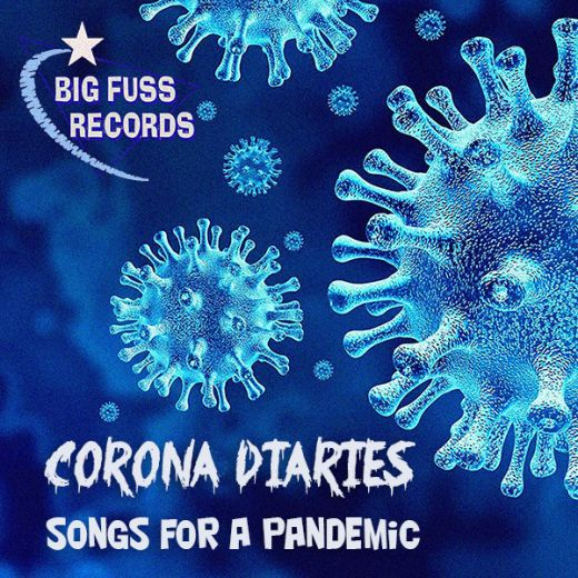 Corona Diaries Album Cover Art