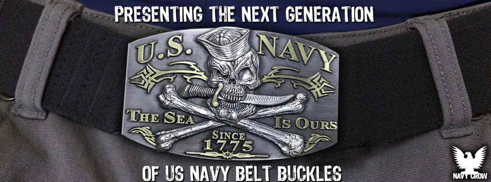 US Navy Custom Belt Buckles