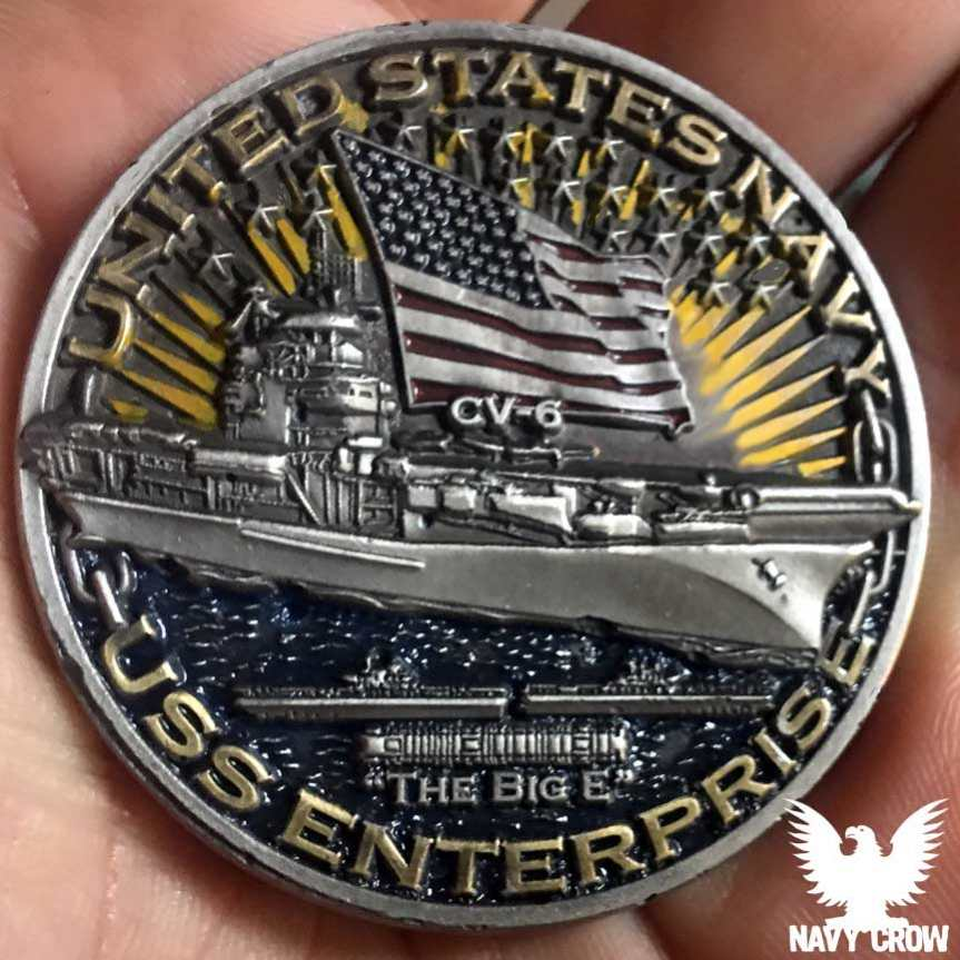 World Of Warships US Navy Challenge Coins