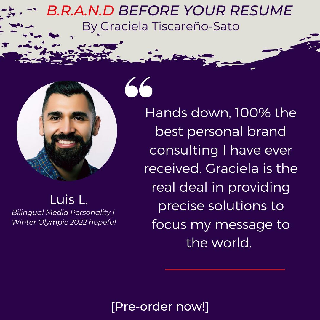 Testimonial from Luis Lecanda