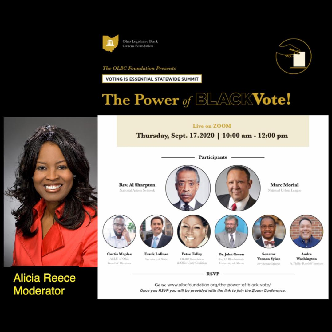 "Alicia Reece & ""Power of the Black Vote"""