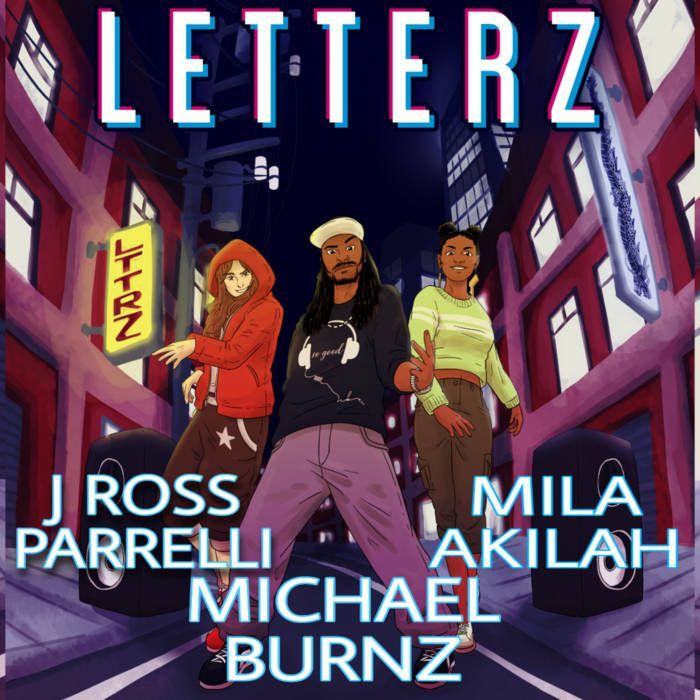 Letterz by Michael Burnz