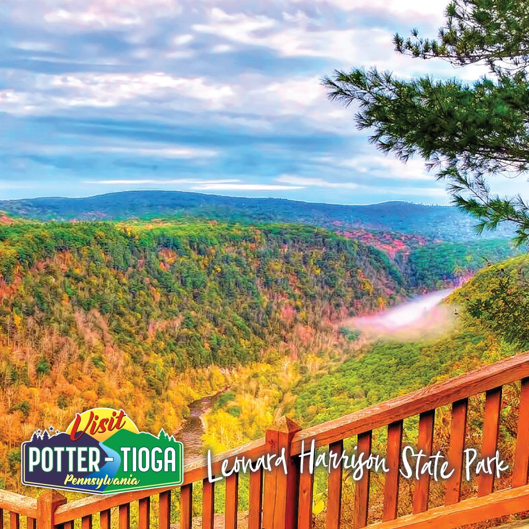 Visit Potter-Tioga - Leonard Harrison State Park