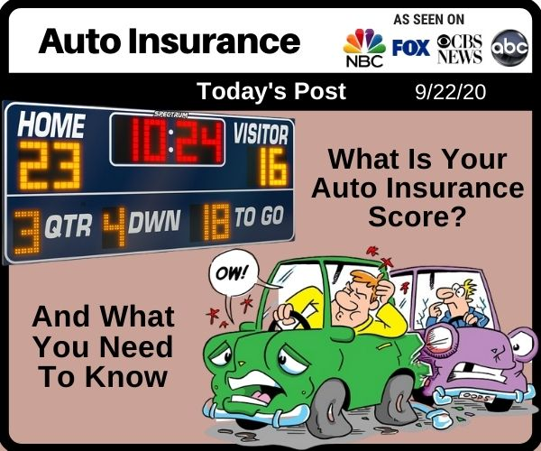 What Is Your Auto Insurance Score And What You...