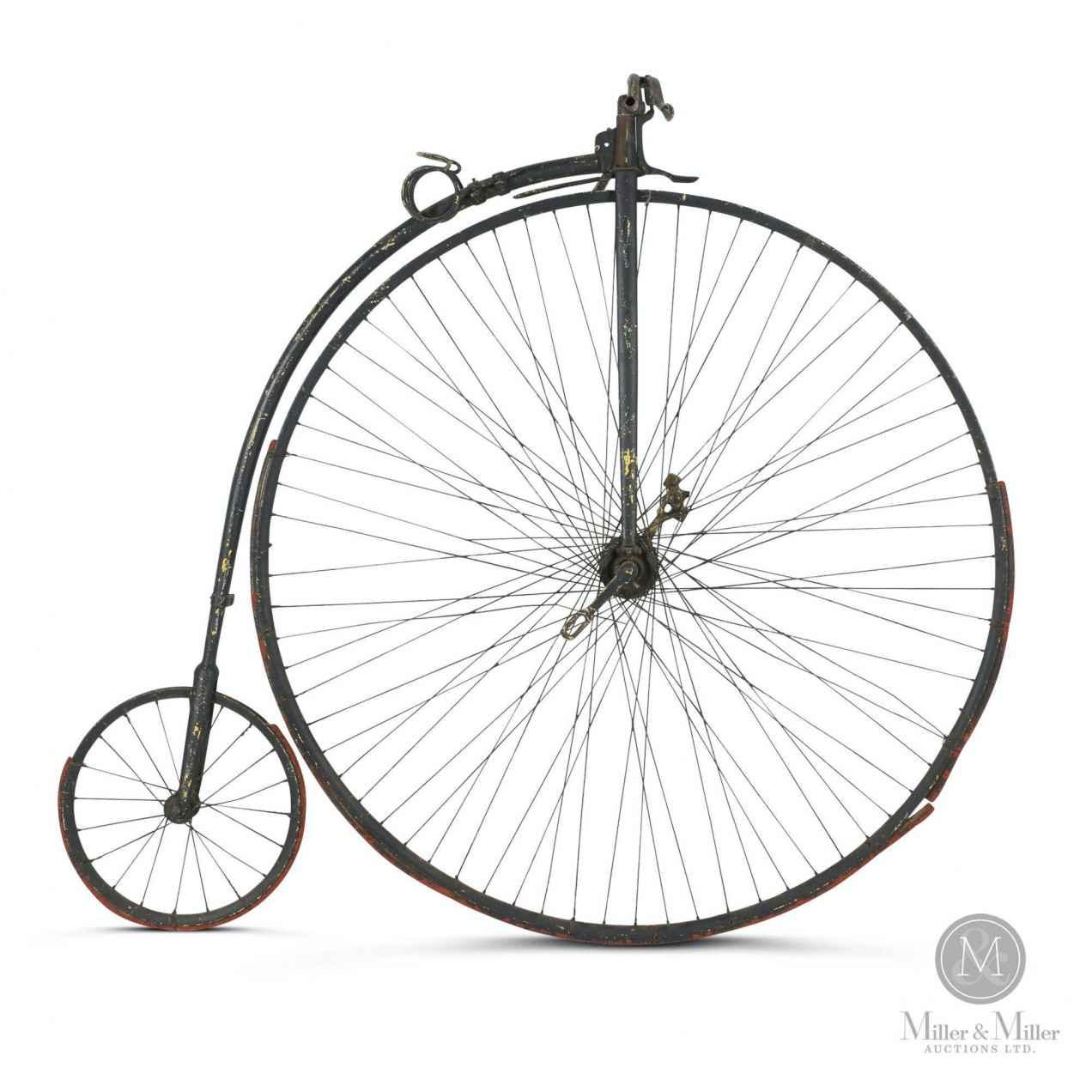 Circa 1890 Goold high-wheel bicycle made in Canada