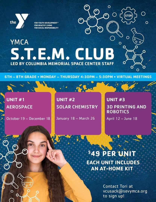 Y Stem Club Middle School Stem Program