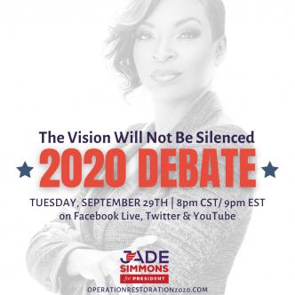 Jade Simmons Creates Her Own Debate Stage