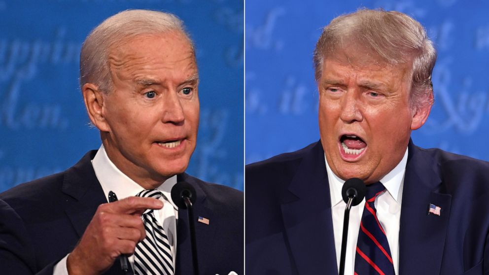 Biden Trump Debate / ABC NEWS