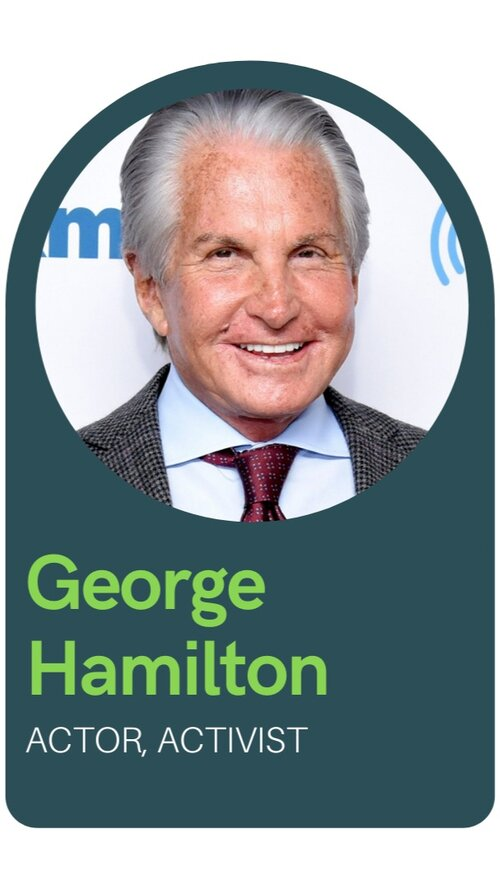 George Hamilton, Activist and Actor