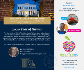 Year of Giving NourishNC