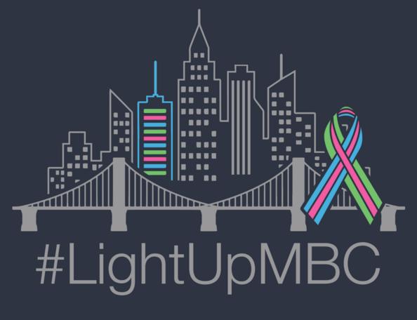 #LightUpMBC: October 13 on Facebook @metavivor