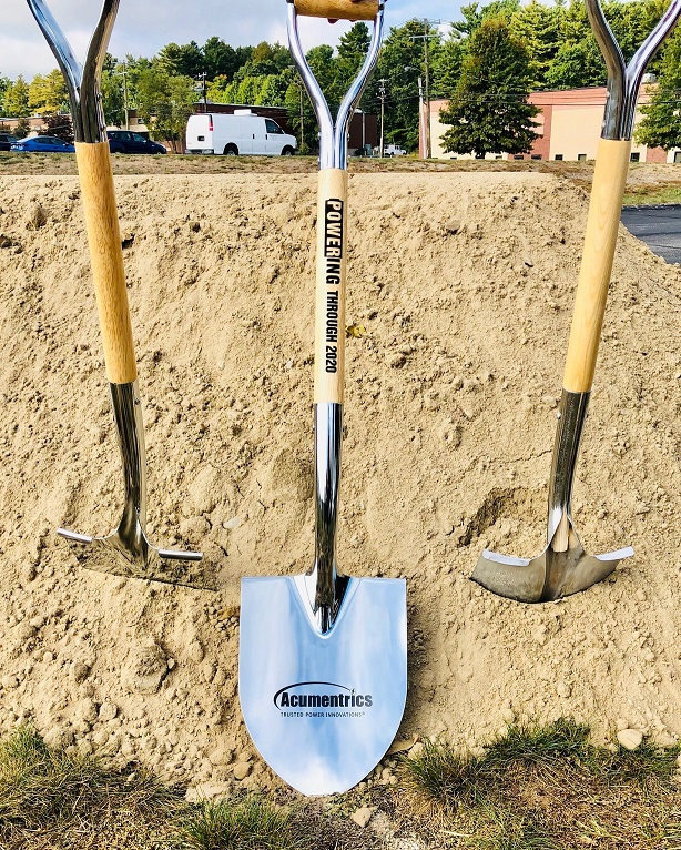 Acumentrics Groundbreaking Shovels
